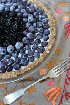 barefoot and frolicking: hollyhock, the journey - part 6: organic blueberry soul mandala pie