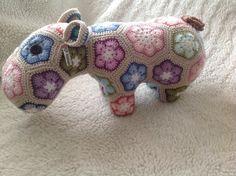 Hippy Potamus - crocheted hippopotamus £44.00