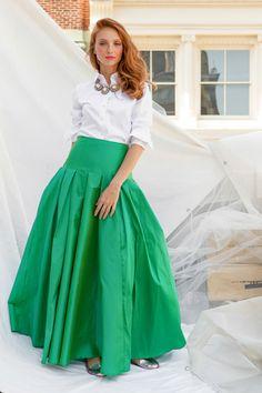 Brooklyn Skirt Green