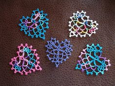 I've been working on a cluny heart pattern and realize not everyone is thrilled about cluny weaving. So you could decide to substitute two ...