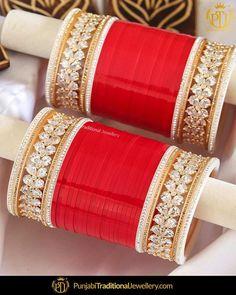 Newness Alert 🚨 Obsessed with our Summer Collection❣️ Wedding Chura, Red Wedding, Sikh Wedding, Wedding Ties, Wedding Photos, Chuda Bangles, Punjabi Traditional Jewellery, Indian Wedding Jewelry, Indian Bridal