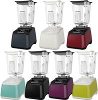 Blendtec Designer 625 Blenders complete with the patented 5 sided WildSide+ blending jar. Created in 7 Different  Colour Finishes: Black, Pomegranate, Polar White, Sea Foam, Slate Grey, Orchid and Chartreuse.
