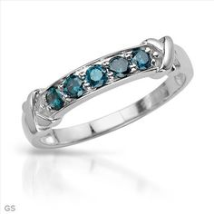 Vibrant Brand New Ring With 0.55ctw Genuine  Diamonds in White Gold- Size 10 - Certificate Available.
