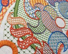 Beautiful stitch sampler from Mary Corbet of Needle n Thread.