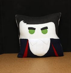 12th Doctor Pillow Plush Cushion Peter by HomegrownTrinkets, $30.00 #DoctorWho #PeterCapaldi #attackeyebrows #12thdoctor #Whovian #nerdypillow