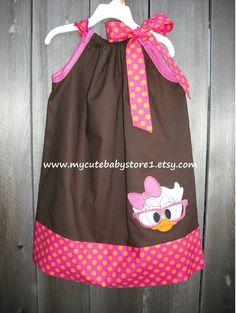 Character Disney Daisy Duck Pillowcase Dress