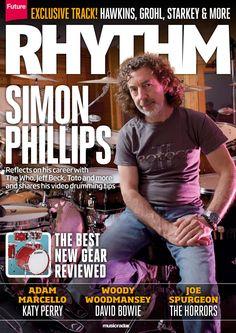 Rhythm Magazine 234. Simon Phillips. The best new gear reviewed!