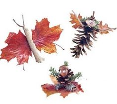 View these Fall Decor Crafts-Easy Fall Leaf Art Projects collection. Also browse thousands of other holiday decorations, crafts, cards, hand-made gifts and project ideas. Harvest Crafts, Autumn Crafts, Fall Crafts For Kids, Nature Crafts, Thanksgiving Crafts, Holiday Crafts, Kids Crafts, Thanksgiving Table, Leaf Crafts