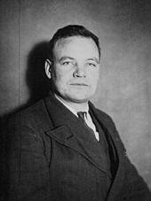 Maurice Thorez, député de la Seine (1932).