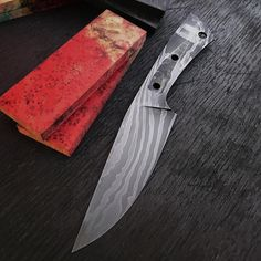 I've got some more fine tuning to do but the blade for this Field knife is just about finished. Thinking that these dyed box elder burl scales will make a cool looking handle. #knife #knives #handmade #hunting #camping #outdoors #edc #forged #forged #blade #bushcraft #survival #tactical #knifepics #metalart #knifemaker #chicago