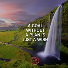 Stop wishing and start planning!    #RockSocial #RockSM #Inspo #Inspiration #Success