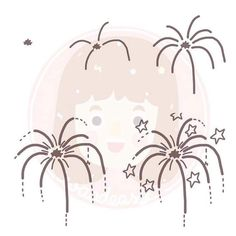 Firework How To Draw Fireworks, Fireworks Art, Doodle Drawings, Easy Drawings, Doodle Art, Sketch Notes, Sketch A Day, Doodle Pages, How To Draw Steps