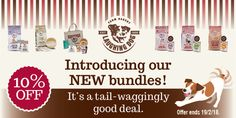 Our new bundles have 10% off until midnight today!