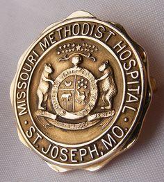 Missouri Methodist Hospital School of Nursing Graduation Pin