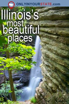 You might have to ask yourself whether you are awake or sleeping when you see these awesome Illinois spots. Usa Places To Visit, Places To Travel, Places To See, Weekend Trips, Day Trips, Illinois State Parks, Shawnee National Forest, On The Road Again, Staycation
