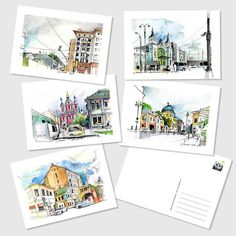 What's left of those sets of 5 postcards with my urban sketches and some other things are now on Etsy! Use the promo MSFREESHIPPING on the orders from $10 to get a ... free shipping :) Active link in my profile! . Some of the original drawings will be there soon! . #postcrossing #postcards #postcardsale #urbansketch #architecture #archillustration #etsy #moscow #moscow_in_sketches