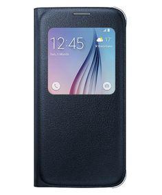 Samsung Galaxy S6 S-View Cover Zwart