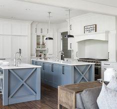 27 Amazing Double Island Kitchens (Design Ideas) | Kitchens ... on