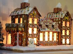 gingerbread houses pictures | Graphicality-UK: 04.12. Gingerbread Houses