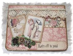 "Scrappin' Ky Momma: Graphic 45 ""A Ladies Diary"" Card Set"