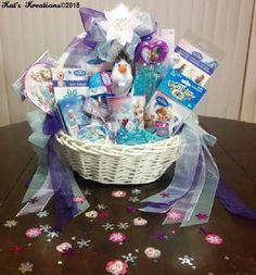 """""""Elsa"""" Frozen Birthday Gift Basket"""