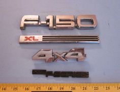 Ford F 150 XL Pickup Factory Body Emblems