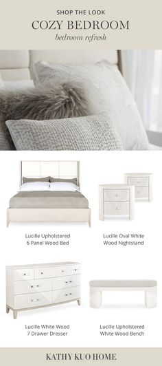 Bedding Inspiration, Tufted Bed, Make Your Bed, Cozy Bedroom, Furniture Collection, Bed Design, Modern Classic, Luxury Bedding, Bedroom Furniture