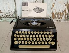 Vintage 1960's Typewriter Tippa S Made in West by foundhere