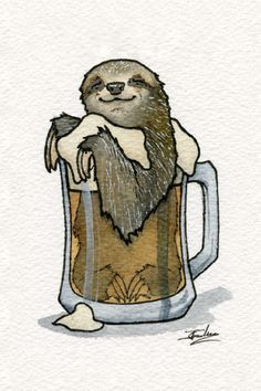 Sleepy Sloth Cask Ale