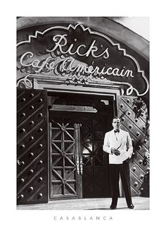 Casablanca Anon SPT8346  Limited stock available Paper: 27 x 20 Image: 23 x 16   Retail $36.00