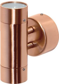Lighting Plus Comma Up/ Down Exterior Wall Light - Copper, Exterior Lights, Tubular Wall Lights, New Zealand's Leading Online Lighting Store