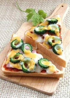 自家製ゴーヤでピザトースト by お美津さん | レシピブログ - 料理 ...