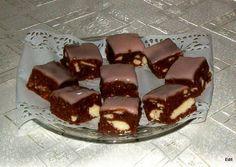 Recept: Ezt a szuper puncsos desszertet még sütni sem kell Ice Cream Candy, Cookie Do, Hungarian Recipes, Cookies Policy, Macaron, Cake Cookies, No Bake Cake, Fudge, Food And Drink