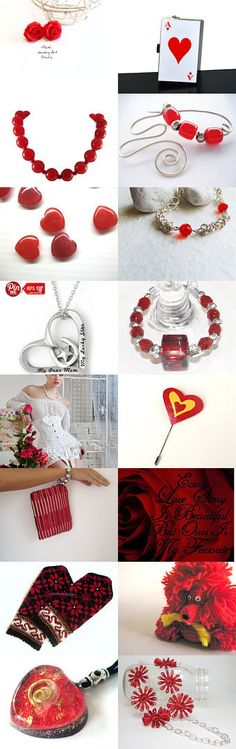Red ♥ Obsession by Laura P. on Etsy--Pinned with TreasuryPin.com