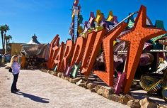 Las Vegas' Neon Museum: where the glitz of the strip goes to live after retirement. (Image credit: © George Rose/Getty Images)  I want to go here!