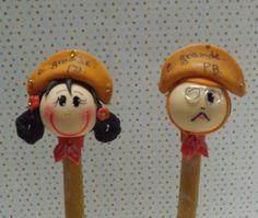 Lampião e Maria Bonita caneta esferográfica