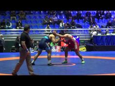 Meshvildishvili (GEO) - Gwiazdowski (USA) FS 125 kg World Wrestling Clubs Cup 2016