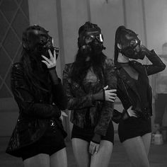 A Dystopian Future Badass Halloween Costumes, Halloween Kostüm, Halloween Outfits, Gangsta Girl, Badass Aesthetic, Bad Girl Aesthetic, Les Chipettes, Gas Mask Girl, Purge Mask