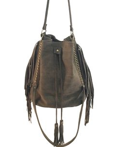 Bucket bag, Fringed bucket bag, Leather bucket bag, Olive green Sac bag, Leather hobo bag, Sale! by MeitaLev on Etsy https://www.etsy.com/listing/225910038/bucket-bag-fringed-bucket-bag-leather