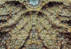 Mezquita Hazrate-Masomeh en Qom, Irán