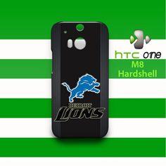 Custom Detroit Lions HTC One M8 Case Cover Hardshell