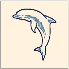 Excited to share the latest addition to my #etsy shop: Beautiful Dolphin Cute Animal Blue Machine Embroidery Pattern Instant Download http://etsy.me/2CB6ZXz #supplies #embroidery #animal #animals #cute #blue #machine #design #pattern