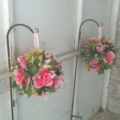 Pomander floral balls