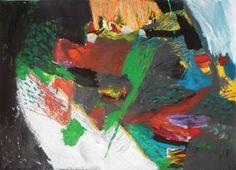 """Saatchi Art Artist Milena Vuckovic; Painting, """"Nasca V"""" #art"""