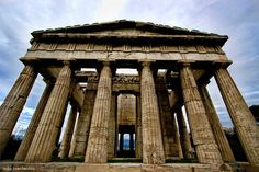 Favorite ancient structure in Greece. I guess the Gods and Goddesses hang out here haha