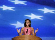 Michelle Obama: 'Barack knows the American dream because he's lived it'