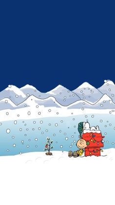 Xmas Wallpaper, Christmas Phone Wallpaper, Snoopy Wallpaper, Apple Watch Wallpaper, Winter Wallpaper, Wallpaper Backgrounds, Happy Merry Christmas, Peanuts Christmas, Christmas Art