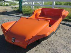 New Classic Manx body in standard gel coat color Orange Sherbert!