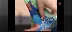 Este é o vídeo do passo a passo de como revestir uma cadeira de plástico com…