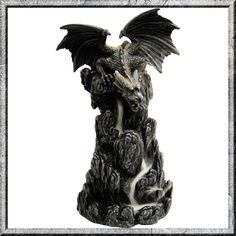 Dragon Rocky Tower Backflow Incense Cone Burner £27.99 Dragon Rocky Tower…